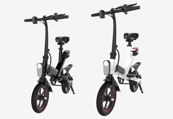 China 36V Portable Folding Electric Bike Pneumatic Tire For Leisure / Tourism supplier