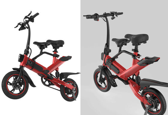 China Lightweight Small Electric Bike , Folding Road Bike Environmentally Friendly supplier