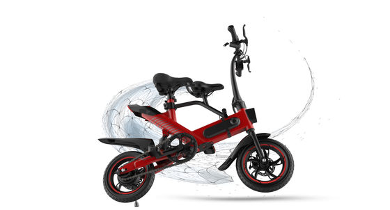 China Custom Battery Powered Bikes , Adjustable Height Electric Pedal Bike Durable supplier