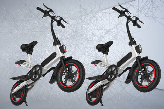 China Small City Travel Full Size Folding Electric Bike Environmental - Friendly supplier