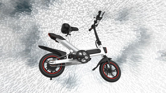 China Portable Folding Electric Bicycle36V Lithium Battery Powered Simple Style And Economical supplier