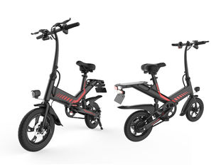 China 350W Collapsible Electric Bike , Folding Electric Bicycle 7.5AH Lithium Battery supplier
