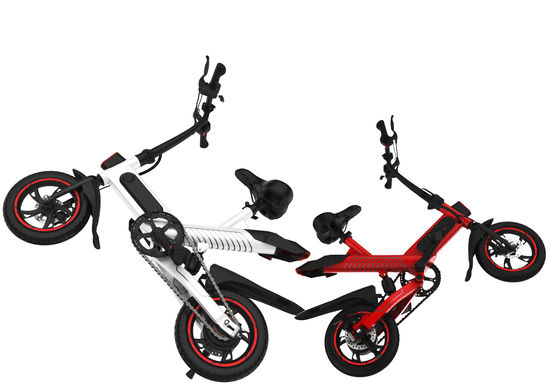 Adjustable Electric Commuter Bike , Ultra Light  Electric Push Bike For Adult