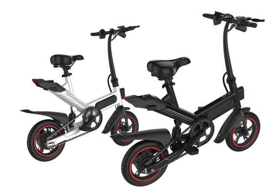 High Configuration Folding Travel Bike Foldable Electric Bicycle 100 * 45 * 73CM