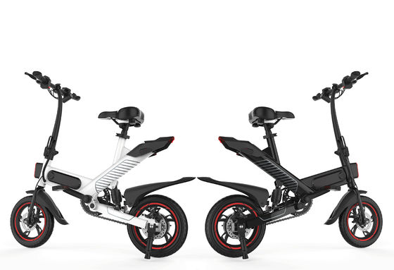350W Portable Electric Pedal Bike 36V Lithium Battery Powered 25 Km / H