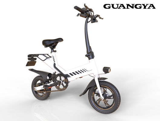 Fashion HD Display Device Lithium Battery Folding Electric Bicycle for Automobile