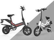 Tourism Electric City Folding Bike 12 Inch Aluminum Alloy Frame IP54 Waterproof